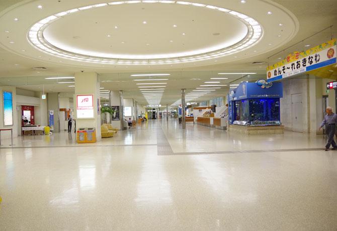 <那覇空港→本部港>やんばる急行バスで本部港へ